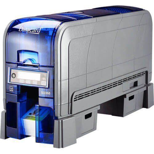 Impressora de Cartão PVC Frente e Verso Datacard SD360  - ZIP Automação