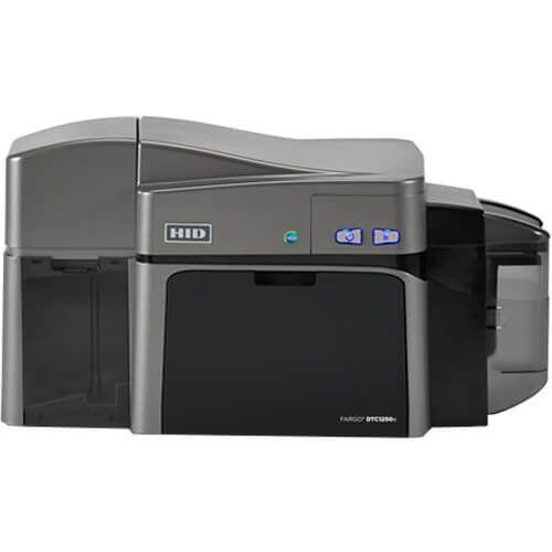 Impressora de Cartão PVC Frente e Verso HID Fargo DTC1250e  - ZIP Automação