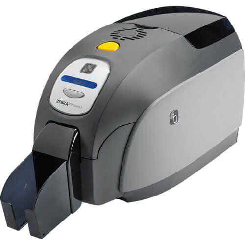 Impressora de Cartão PVC Frente e Verso Zebra ZXP Série 3 Ethernet  - ZIP Automação