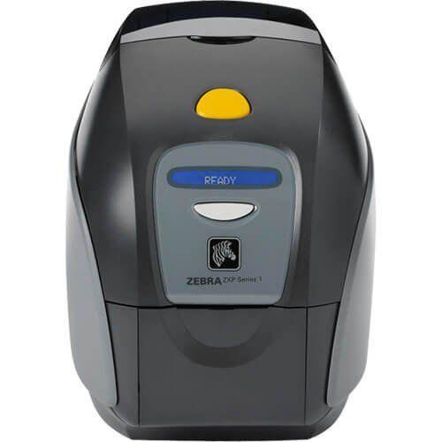 Impressora de Cartão PVC Zebra ZXP Série 1 Ethernet  - ZIP Automação