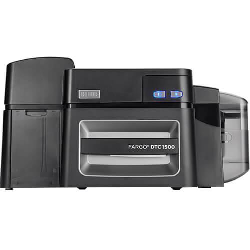 Impressora de Crachás Fargo DTC1500 - HID   - ZIP Automação