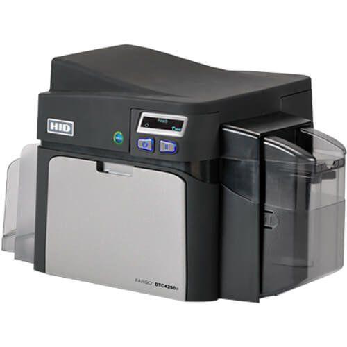 Impressora de Crachás Fargo DTC4250e - HID  - ZIP Automação