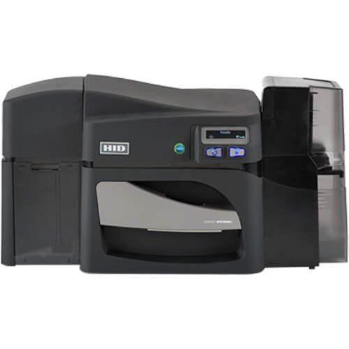 Impressora de Cartão PVC / Crachá 1 Lado HID Fargo DTC4500e Ethernet / USB  - ZIP Automação