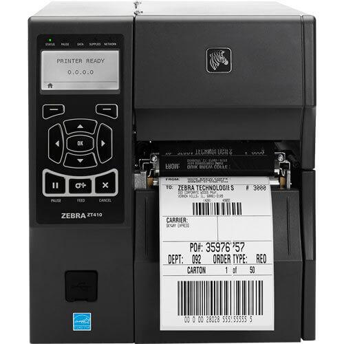Impressora Térmica de Etiquetas Zebra ZT410  - ZIP Automação