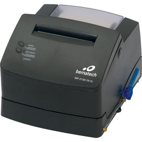 Impressora Fiscal Térmica MP-2100 TH FI - Bematech  - ZIP Automação