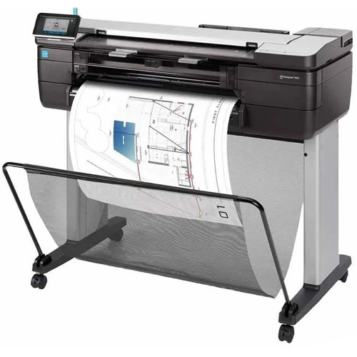 Impressora Multifuncional Plotter HP DesignJet T830 USB / Wi-Fi  - ZIP Automação