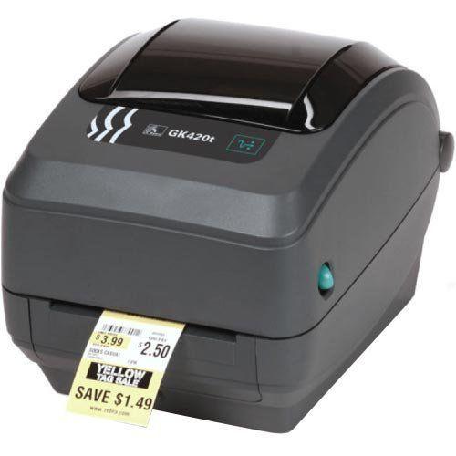 Impressora Térmica de Etiquetas Zebra GK420t  - ZIP Automação