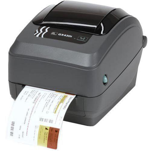 Impressora Térmica de Etiquetas Zebra GX430t  - ZIP Automação