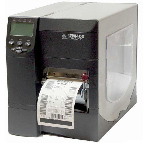 Impressora Térmica de Etiquetas Zebra ZM400  - ZIP Automação