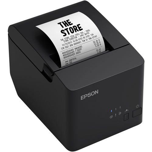 Impressora Térmica Não Fiscal Epson TM-T20X Ethernet  - ZIP Automação