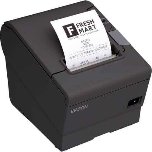 Impressora Térmica Não Fiscal Epson TM-T88V Ethernet  - ZIP Automação