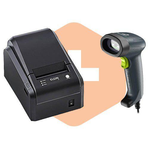Kit Impressora i7 Elgin + Leitor I-150 Bematech  - ZIP Automação