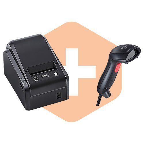 Kit Impressora i7 + Leitor Flash - Elgin  - ZIP Automação