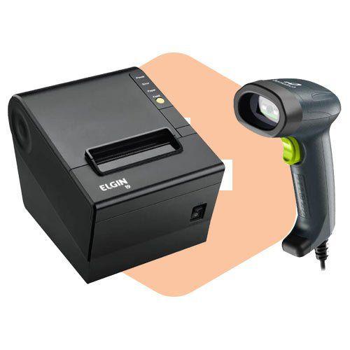 Kit Impressora i9 Elgin + Leitor I-150 Bematech  - ZIP Automação