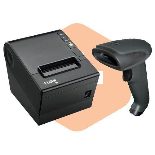 Kit Impressora i9 Elgin + Leitor TL-120 Tanca  - ZIP Automação