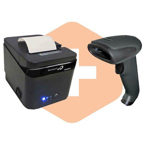 Kit Impressora MP-2800 TH Bematech + Leitor TL-120 Tanca  - ZIP Automação