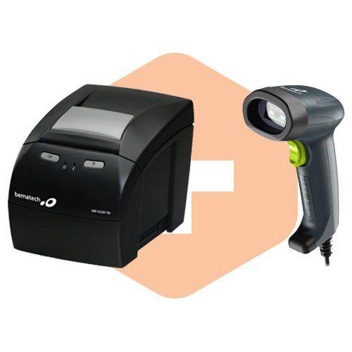 Kit Impressora MP-4200 TH + Leitor I-150 - Bematech  - ZIP Automação