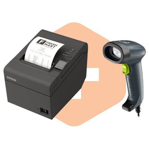 Kit Impressora TM-T20 Epson + Leitor I-150 Bematech  - ZIP Automação