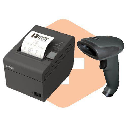 Kit Impressora TM-T20 Epson + Leitor TL-120 Tanca  - ZIP Automação