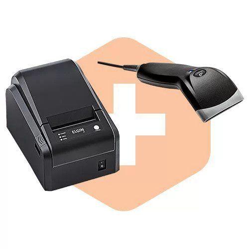 Kit Impressora i7 Elgin + Leitor BR-400 Bematech  - ZIP Automação