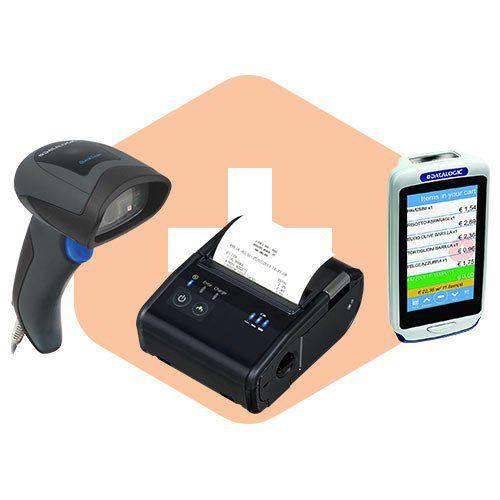 Kit Papa Fila Coletor Joya Touch + Impressora TM-P80 + Leitor QD2430  - ZIP Automação