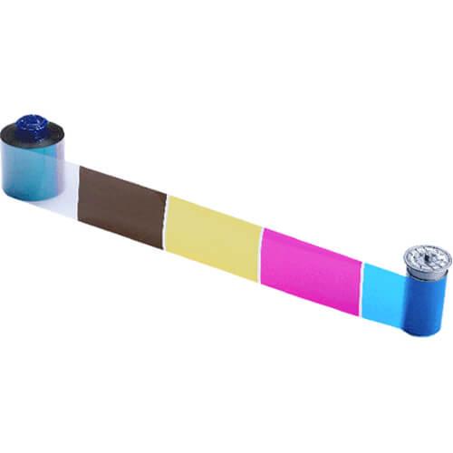 Ribbon Colorido Datacard CMYKP CR805  - ZIP Automação