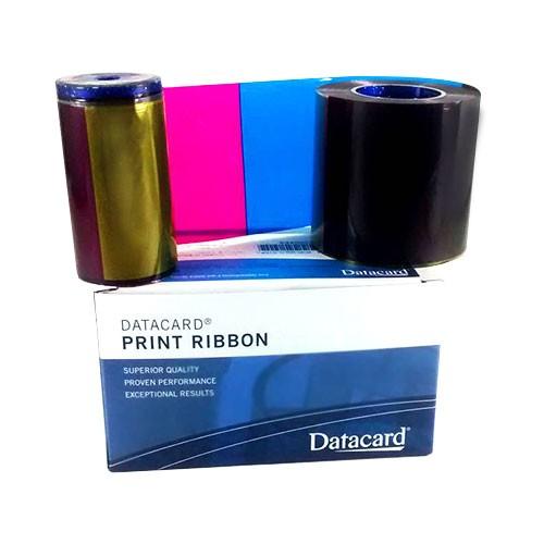 Kit Ribbon Colorido YMCKT SD260/SD360/SP35/SP55 - Datacard  - ZIP Automação