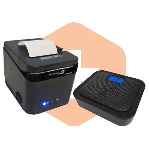 Kit SAT Fiscal s@tGo + Impressora MP-2800 TH - Bematech  - ZIP Automação