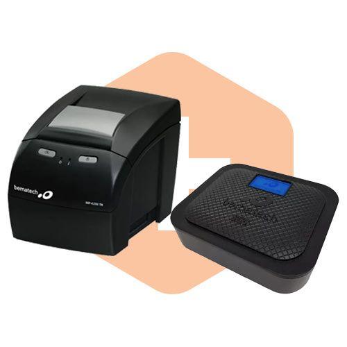 Kit SAT Fiscal s@tGo + Impressora MP-4200 TH - Bematech  - ZIP Automação