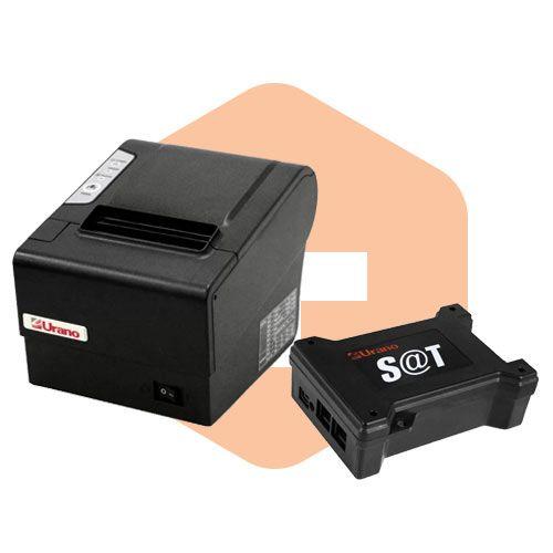Kit SAT Fiscal U-S@T + Impressora ZP250 USE - Urano  - ZIP Automação