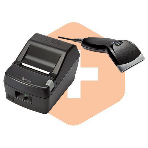 Leitor BR-400 Bematech + Impressora DR800 L Daruma  - ZIP Automação