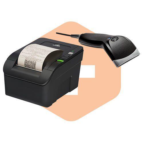 Leitor BR-400 + Impressora MP-100S TH - Bematech  - ZIP Automação