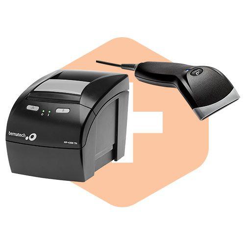 Leitor BR-400 + Impressora MP-4200 TH - Bematech  - ZIP Automação