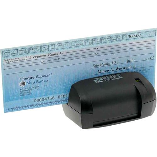 Leitor de Boleto Bancário e Cheque Nonus Homebank 10  - ZIP Automação