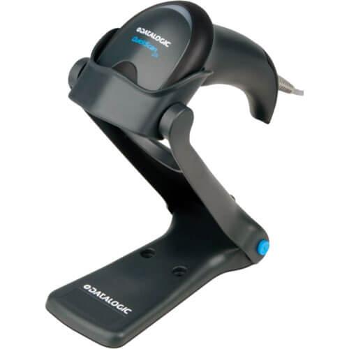 Leitor de Código de Barras Datalogic QuickScan I Lite QW2100 c/ Suporte  - ZIP Automação