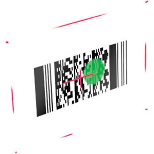 Leitor de Código de Barras 2D Datalogic QuickScan I QD2400 c/ Suporte  - ZIP Automação
