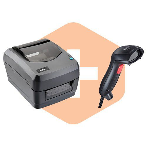 Kit Impressora L42 + Leitor Flash - Elgin  - ZIP Automação