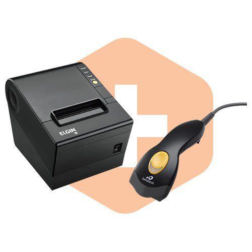 Leitor S-100 Bematech + Impressora i9 Elgin  - ZIP Automação