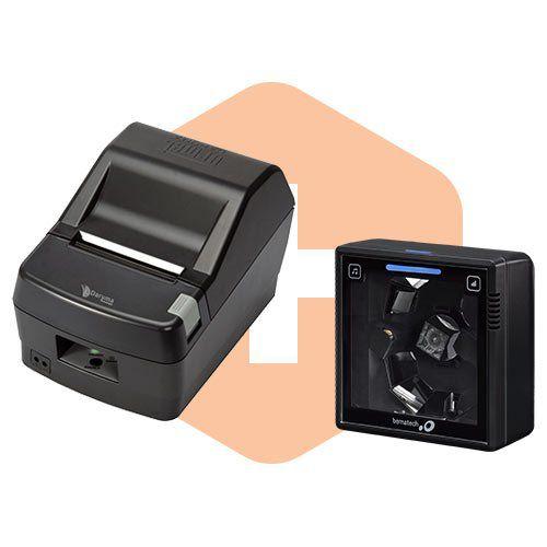Leitor S-3200 Bematech + Impressora DR800 L Daruma  - ZIP Automação