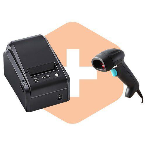 Leitor ZL2200 Honeywell + Impressora i7 Elgin  - ZIP Automação