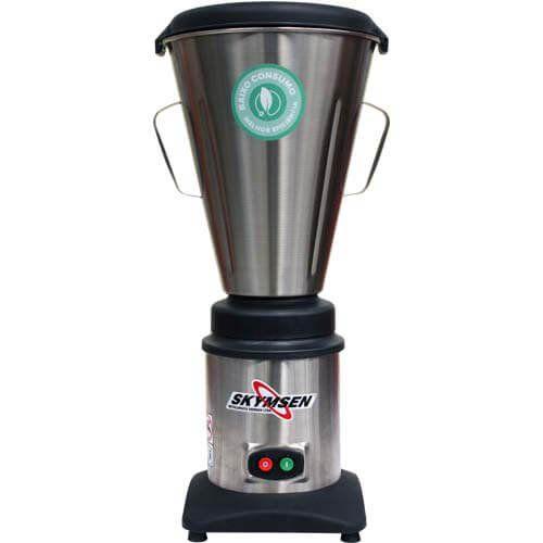 Liquidificador Inox 10L Copo Monobloco Skymsen LC10 127V  - ZIP Automação