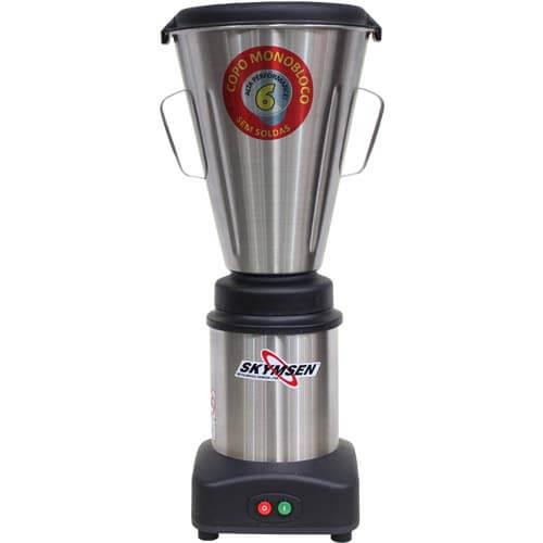 Liquidificador Inox 6L Copo Monobloco Skymsen LS-06MB-N 127V  - ZIP Automação