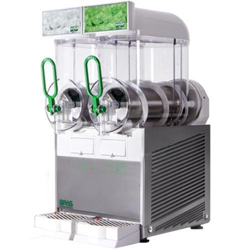 Máquina de Frozen 2 Cubas 2x6L Bras FBMini 2 220V  - ZIP Automação