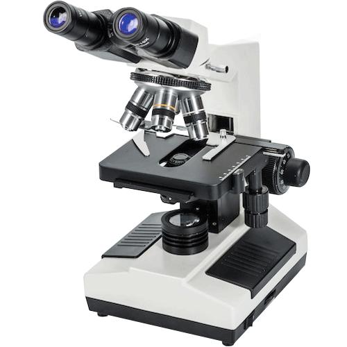 Microscópio Biológico Binocular Marte MIC-100 Bivolt  - ZIP Automação