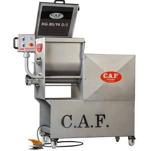 Moedor Homogenizador de Carnes Boca 98 HG 80-98 - CAF Máquinas  - ZIP Automação