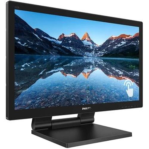 Monitor LED 21,5 pol. SmoothTouch Philips 222B9T/FG  - ZIP Automação