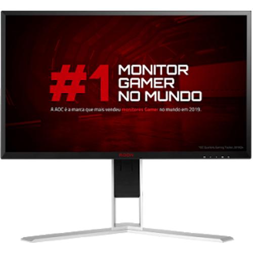 Monitor LED Gamer 24,5 pol. AOC Agon AG251FZ2  - ZIP Automação