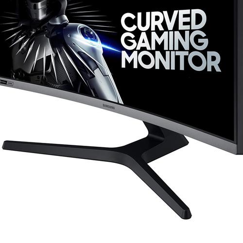 Monitor LED Gamer 27 pol. Curvo Samsung LC27RG50FQL  - ZIP Automação