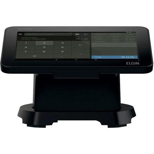 Monitor Touch Screen c/ Impressora integrada Elgin 8 pol. M8  - ZIP Automação