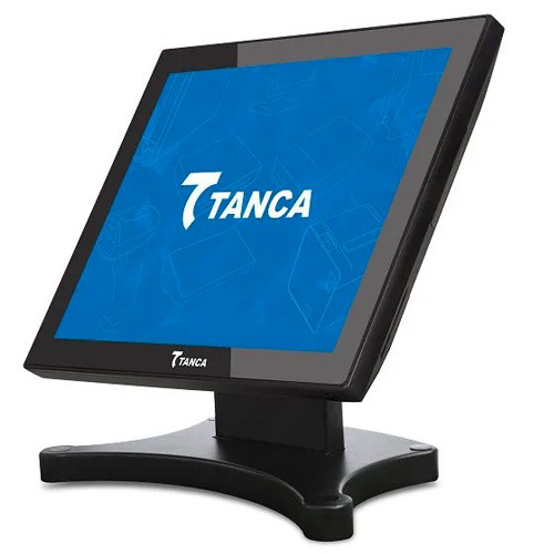 Monitor Touch Screen Tanca 15 pol. TMT-530  - ZIP Automação
